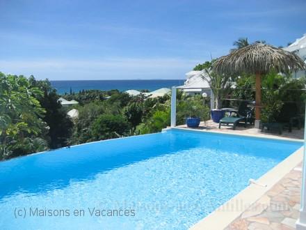 Villa piscine priv e superbe vue mer sur l 39 le de marie for Location maison ile de re derniere minute